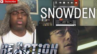 Snowden Official Trailer #1 REACTION (2016) Joseph Gordon-Levitt!