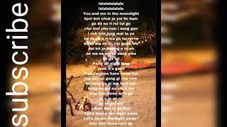 Dance the night away easy lyrics / byTwice jyp entertaiment