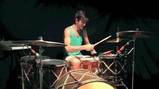 "Owl City-""Deer In The Headlights"" Drum Cover"