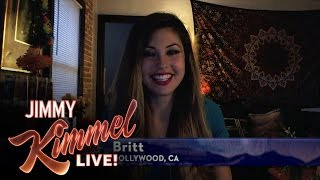 Jimmy Kimmel Chats with Britt from The Bachelor
