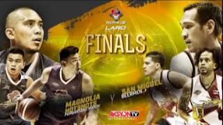 2018 PBA Philippine Cup Finals - Magnolia Hotshots (Aksyon TV International)