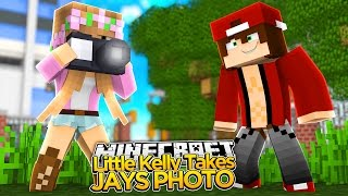 Minecraft - LITTLE KELLY TAKES SECRET PHOTO OF NEW CRUSH!