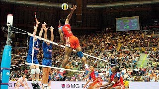 Best Volleyball Moments | Attacks in 3rd Meter | Amazing Video!