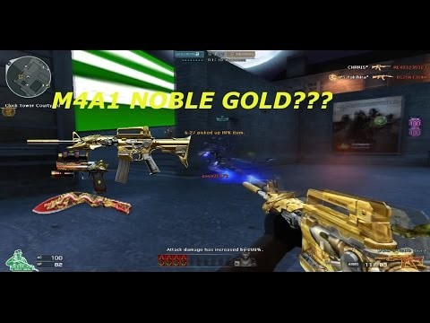 Crossfire NA/UK 2.0: M4A1 - S Noble Gold ( Iron Beast Noble gold) in HMX gameplay