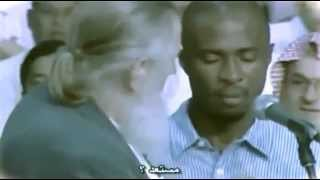 فيديو مؤثر ومبكي شاب مسيحي يسأل الشيخ يوسف استس ثم يعتنق الإسلام