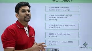 COBOL - Introduction