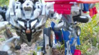 TransFormers ROTF Forest Battle