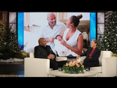 Steve Harvey Isn t As Happy As Most Grandparents