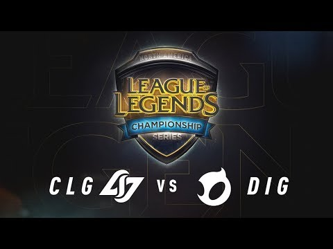 Xxx Mp4 CLG Vs DIG Week 9 Game 2 NA LCS Summer Split Team Dignitas Vs Counter Logic Gaming 2017 3gp Sex