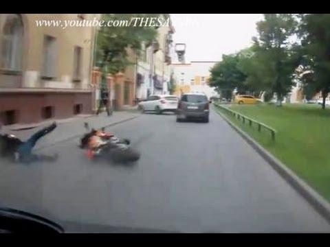 Acidentes Fatales de Motos en vivo HD 2013 no apto para menores