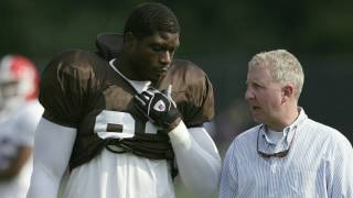 Terry Pluto is talking Cleveland Browns, NFL draft, and he summons the ghost of Courtney Brown