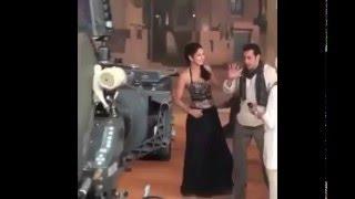 Salman Khan – Katrina Kaif – Behind The Scene Masti