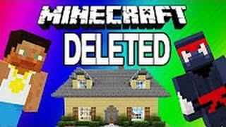 VanossGaming  -  Minecraft Funny Moments Cribs , Racist Fridge - Deleted Video ( Reupload )