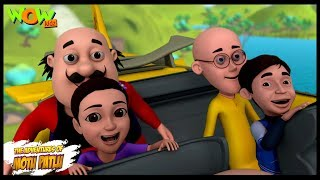 Adventure Of Mansi And Akash - Motu Patlu in Hindi - ENGLISH, SPANISH & FRENCH SUBTITLES!