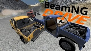 BeamNG  - Banger Races! - Demolition Derby Sunday Cup - Wrong Turn Raceway - BeamNG Drive Gameplay