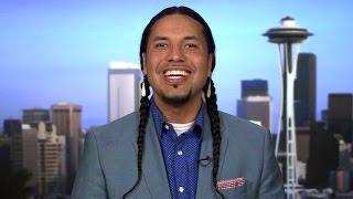 """Trump is a Mercenary"": Native Writer Gyasi Ross on GOP Debate & Why He's Not Endorsed Anyone (Yet)"