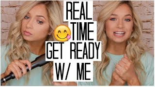 How Long it REALLY Takes Girls to Get Ready   Kim Kardashian Inspired Makeup Look