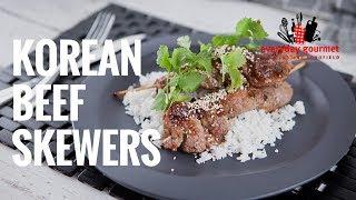 Korean Beef Skewers | Everyday Gourmet S7 E77