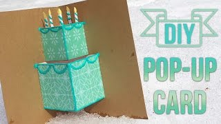 How To Make A Simple Pop-Up Birthday Card 🎂