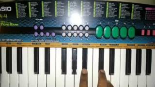 Main hoon don song on piano