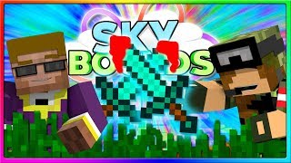 Minecraft - INTENSE PvP!   Ep. 5 of Skyblock on Skybounds