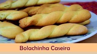 Bolachinha Caseira Simples - Receita de Bolacha Simples