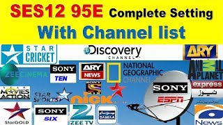 How to set DD Free Dish.NSS 6 satellite Dish complete Setting.