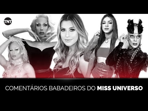 MISS UNIVERSO NA TNT | LIVE COM COMENTÁRIOS