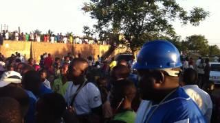 Clube de Chibuto 1   0 HCB de Songo Adeptos Festejam Victoria 30 09 2012