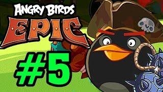 ANGRY BIRDS EPIC - THANH NIÊN ĐÁNH BOM LIỀU CHẾT Tập 5