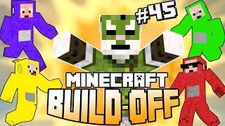 Minecraft Build Off #45 - TELETUBBIES