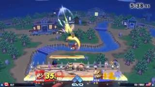 Ally (Mario) vs. Nakat (Fox) - R2 Pools