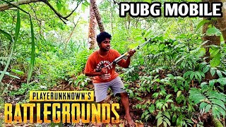 Real Life PUBG | PUBG Game Play On Real Me 2 Pro  | #SanjutechyStyle