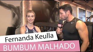 Como ter o bumbum perfeito com Fernanda Keulla