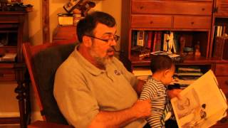 grandfather reads hiawatha