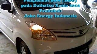Fuel saver (HHO) on Daihatsu Xenia 2012 (Deden)