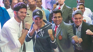 Akshay Kumar And Aditya Thackeray At 2nd Kudo World Cup Flag Off Ceremony Full Video