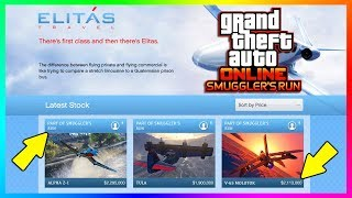 GTA ONLINE SMUGGLER'S RUN NEW DLC UPDATE QNA - NEW VEHICLE PRICES, HANGAR FEATURES, AIRCRAFTS & MORE