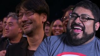 The Game Awards 2016 Hideo Kojima Industry Icon Award Reaction