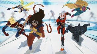 Ms. Marvel | Marvel's Avengers: Secret Wars | Disney XD