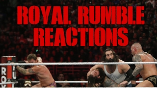 WWE Royal Rumble 2017 Reactions