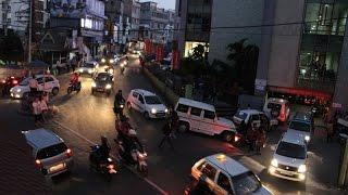 Travel to Aizawl: Dawrpui, Millennium centre crossroad (Mizoram)