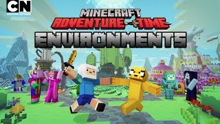 CN Playin   Adventure Time Minecraft: Environments Overview   Cartoon Network