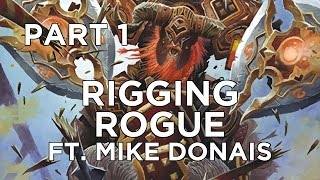 Hearthstone: Rigging Rogue ft. Mike Donais Part 1