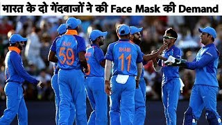 India Bowlers Call for Face-Mask after Ashok Dinda