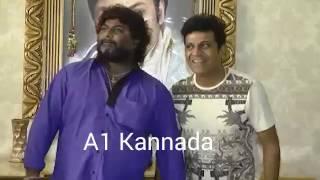 Huccha venkat with shivaraj kumar || Shivanna Birthday Video
