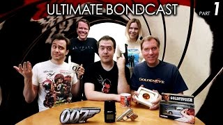 Ultimate BONDCAST (All 25 James Bond Movies Ranked!) Pt 1/2 (007 Podcast)
