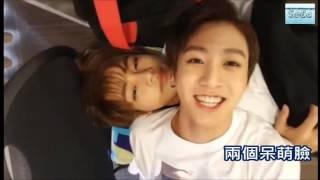 BTS - Jungkook、V 田柾國叫醒金泰亨的方法 Jungkook wake up taehyung[ENG]open CC