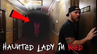 LADY IN RED GHOST AT 3AM | OmarGoshTV