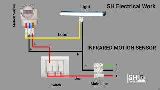 PIR Motion Sensor Switch / Vtac